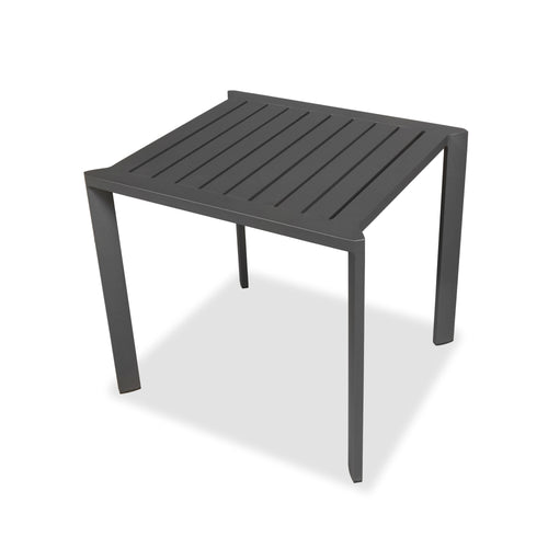 Evette Outdoor Side Table Anthracite Aluminium