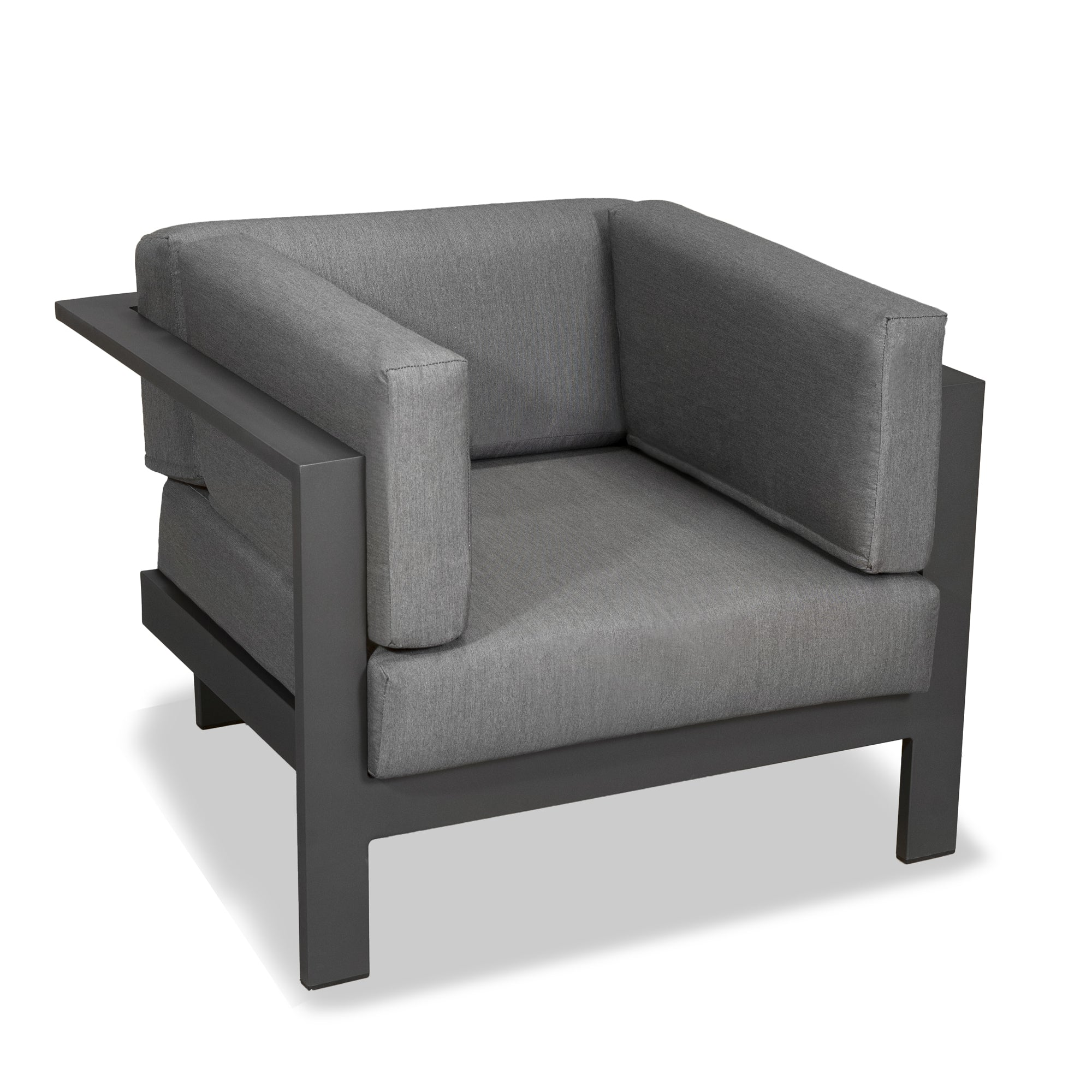 Evette - Single Seat outdoor Sofa Anthracite