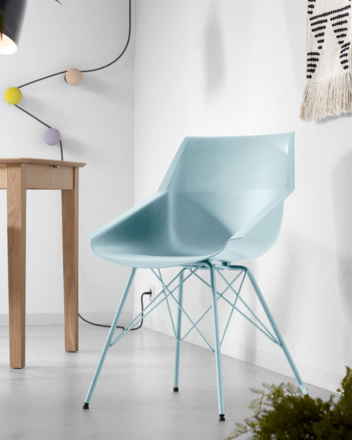 Egill Chair - Light Blue, Chair - Home-Buy Interiors