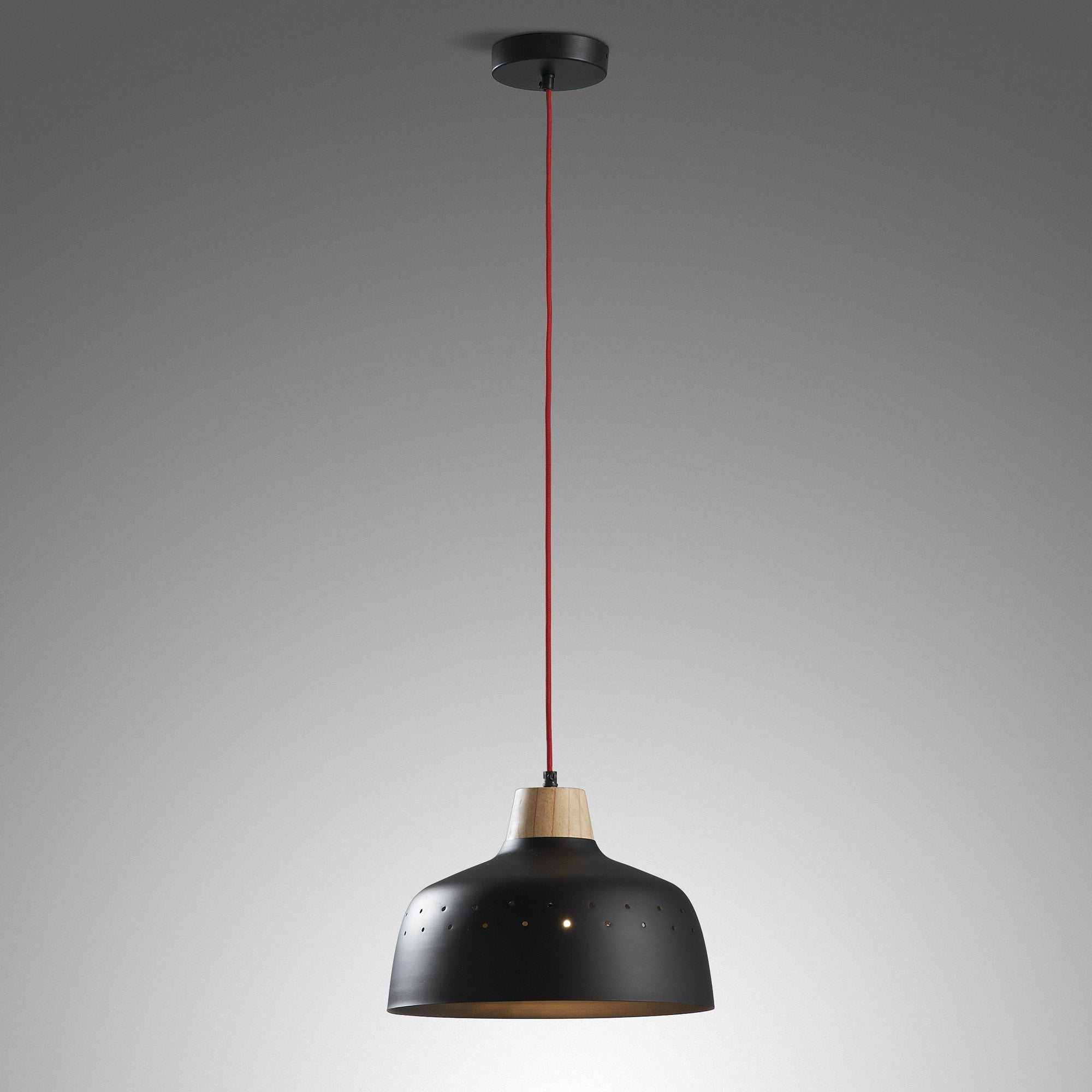 Mollie Pendant Lamp Metal Black, Lighting - Home-Buy Interiors
