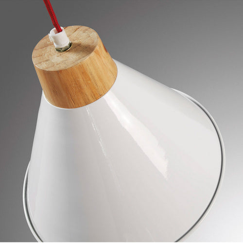 Landon Pendant Lamp metal white, Lighting - Home-Buy Interiors