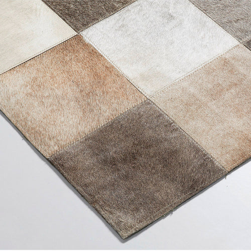 Manley Rug 160X230 Leather Multicolor