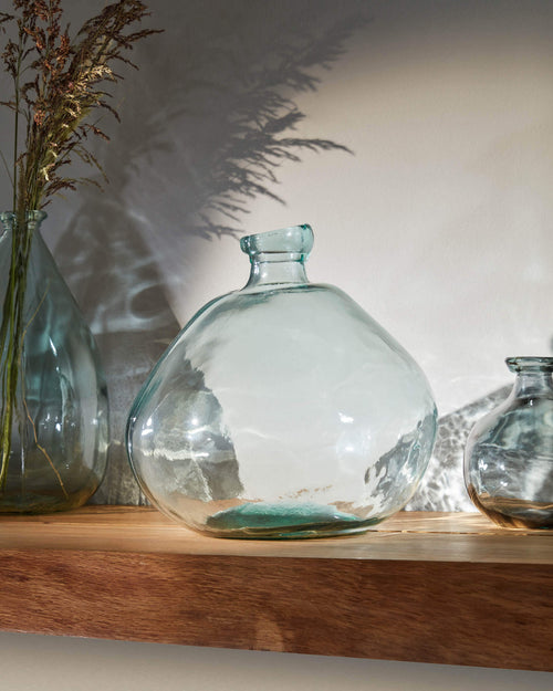 Senner Small Recycled Glass Vase