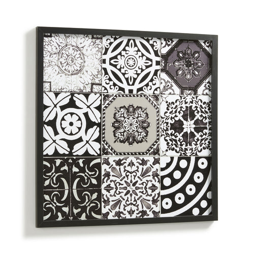 Makena Picture Frame - Black Wood 63 x 63cm, Picture Frame - Home-Buy Interiors