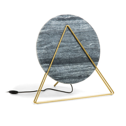 Cahaya table lamp - Black marble