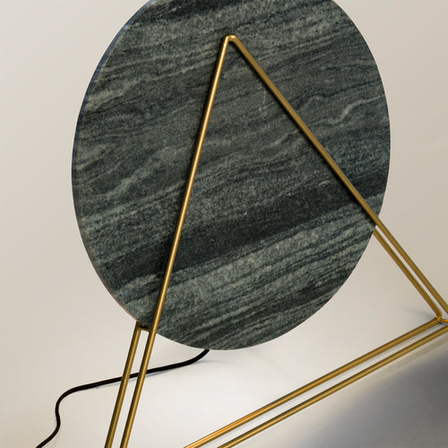 Cahaya table lamp - Black marble, Lighting - Home-Buy Interiors