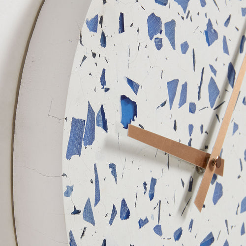 Jose Wall Clock - Terrazzo Blue, Clock - Home-Buy Interiors
