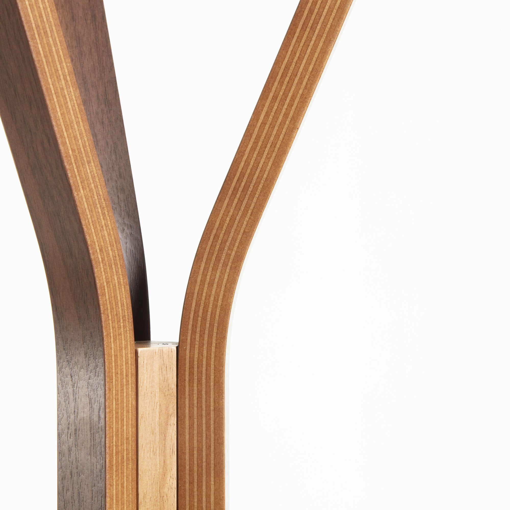 Reyes Coat Rack - Walnut Veneer Finish and Rubberwood, Coat Rack - Home-Buy Interiors