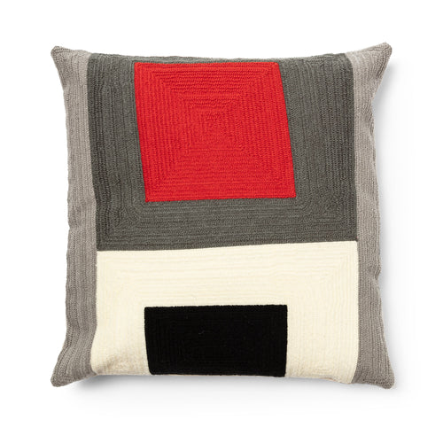 Knowles Cushion - Multicoloured - 45 x 45cm - Home-Buy Interiors