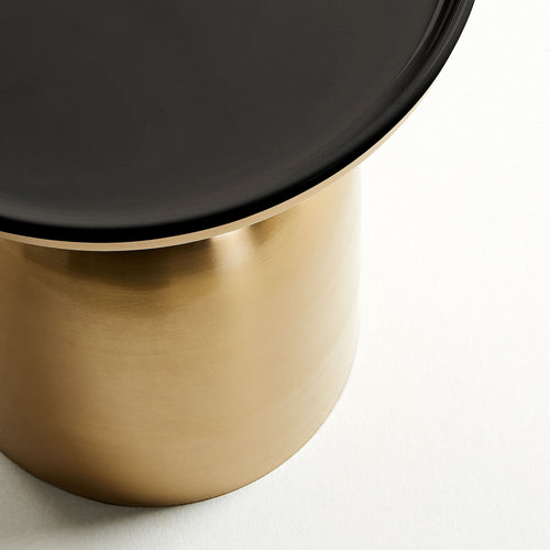 Polly Gold Metal Side Table