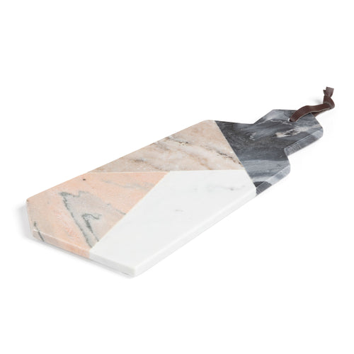 Whitney Cutting Board - Made of Marble with Geometric Shapes 40.5 cm - Home-Buy Interiors