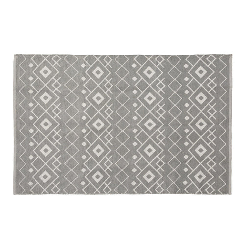 ADDISON Rug Pvc 130x190 grey white - Home-Buy Interiors
