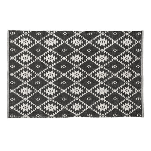 APIKIA Alfresco Rug 190cm Black & White
