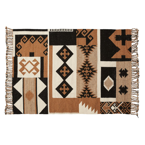 Nada Rug - Multicoloured Tribal Print 160 x 230 cm - Home-Buy Interiors