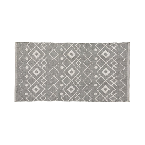 ADDISON Rug Pvc 70x150 grey white - Home-Buy Interiors