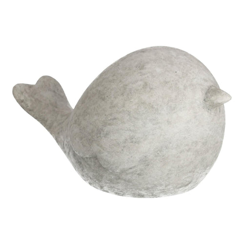 Flight Large Cement Bird Figurine