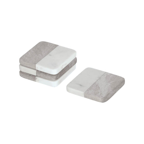 Dartine Marble Set Of 4 Coasters