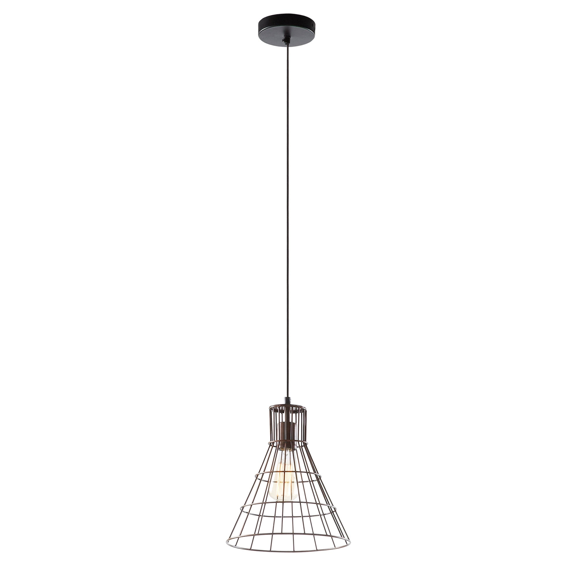 Brenda Pendant Lamp Metal Copper R54,, Lighting - Home-Buy Interiors