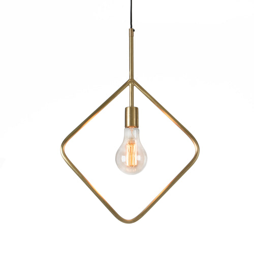 Bridger Pendant (Larger) lamp metal brass,, Lighting - Home-Buy Interiors