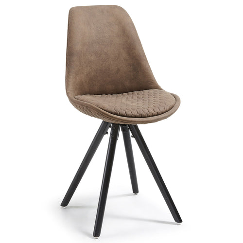 Buteron Chair - Tan, Dining Chair - Home-Buy Interiors