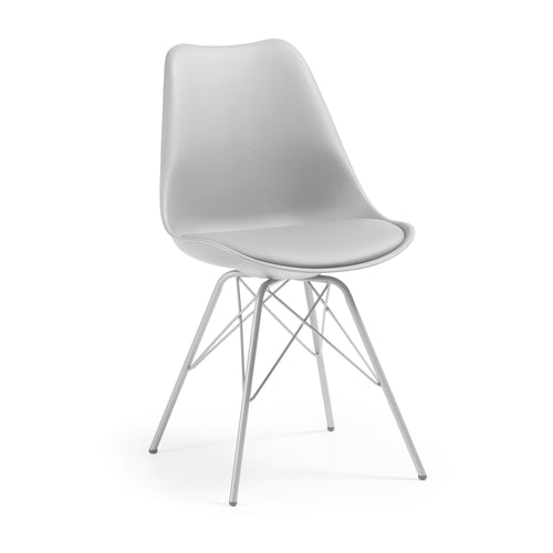 Buteron Chair - Grey, Dining Chair - Home-Buy Interiors