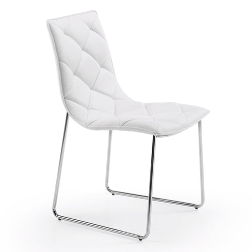 Baxter Chair - White, Chair - Home-Buy Interiors