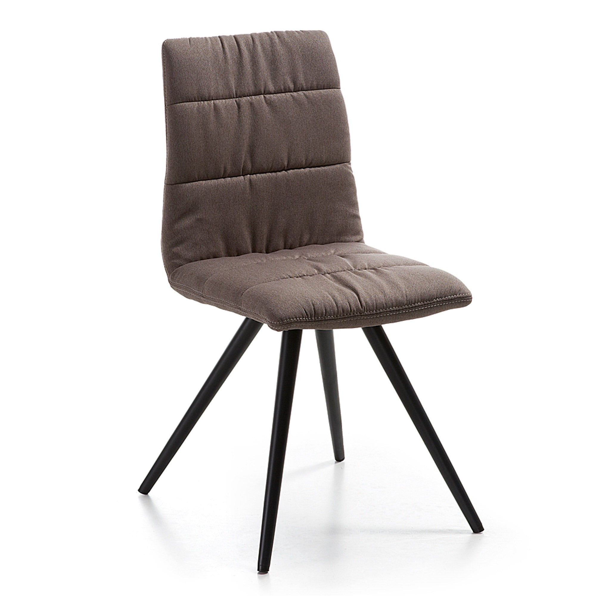 Aubrey Chair - Dark Brown Fabric, Chair - Home-Buy Interiors