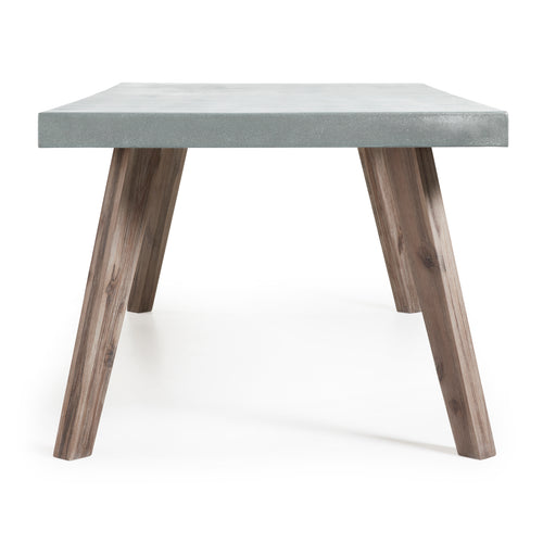 Smash table 200cm solid acacia timber frame & poly-cement top, Table - Home-Buy Interiors