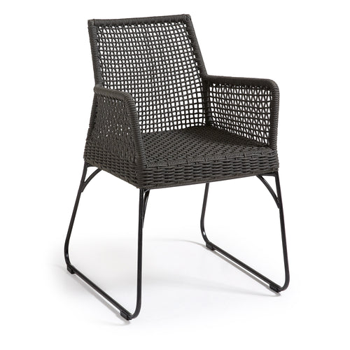 Novak Armchair - Dark Grey - Home-Buy Interiors
