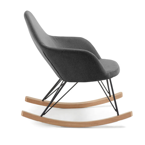 Regina Rocking Chair - dark grey, Chair - Home-Buy Interiors