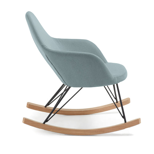 Regina Rocking Chair - Blue, Chair - Home-Buy Interiors