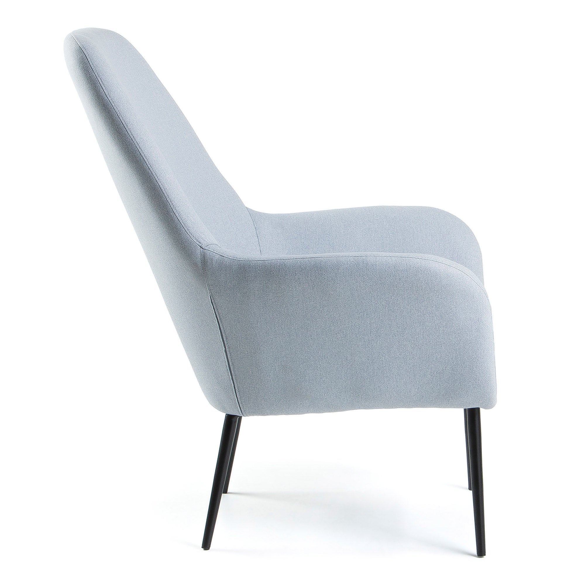 Lori Armchair - Light Blue Fabric, Armchair - Home-Buy Interiors