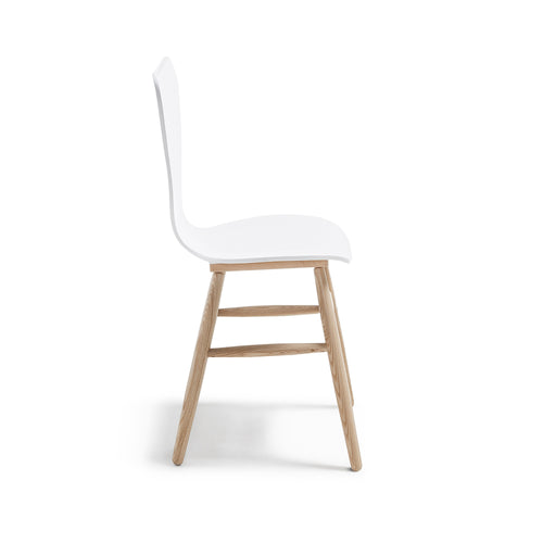 Kolby Chair - Matt White, Chair - Home-Buy Interiors