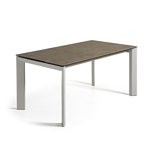 ATTA Table 160(220)x90 grey ceramic vulcano ceniz, Dining Table - Home-Buy Interiors