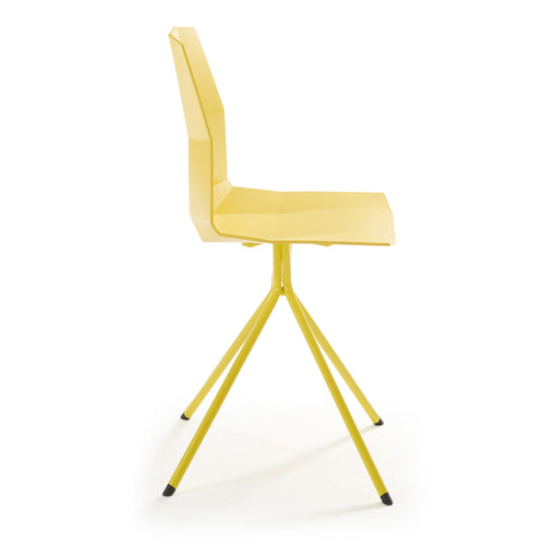 Pute Chair -Yellow, Chair - Home-Buy Interiors