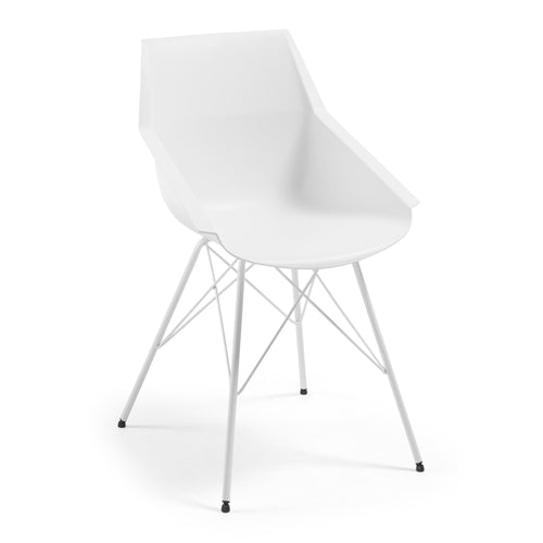 Egill Chair - White - Home-Buy Interiors