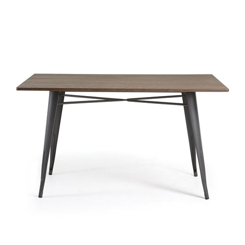Georgi Table - Metal Anthracite Bamboo, Table - Home-Buy Interiors