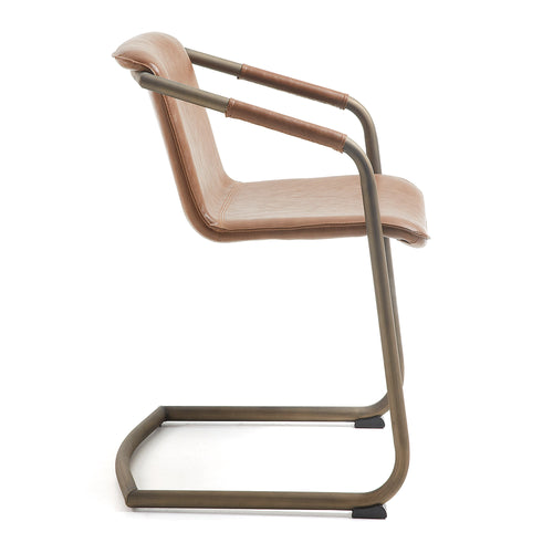Trion Armchair - Pu Rust