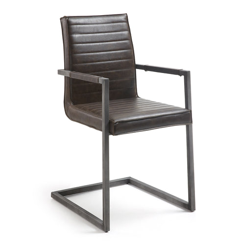 Yula Armchair - dark brown, Chair - Home-Buy Interiors
