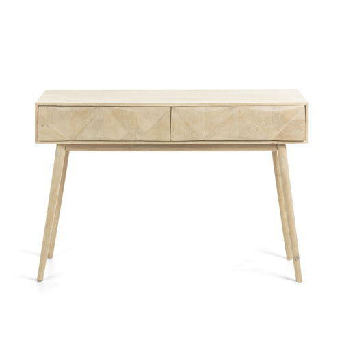 SANVY Console Table 120x80 Mango Wood, Hall Table - Home-Buy Interiors