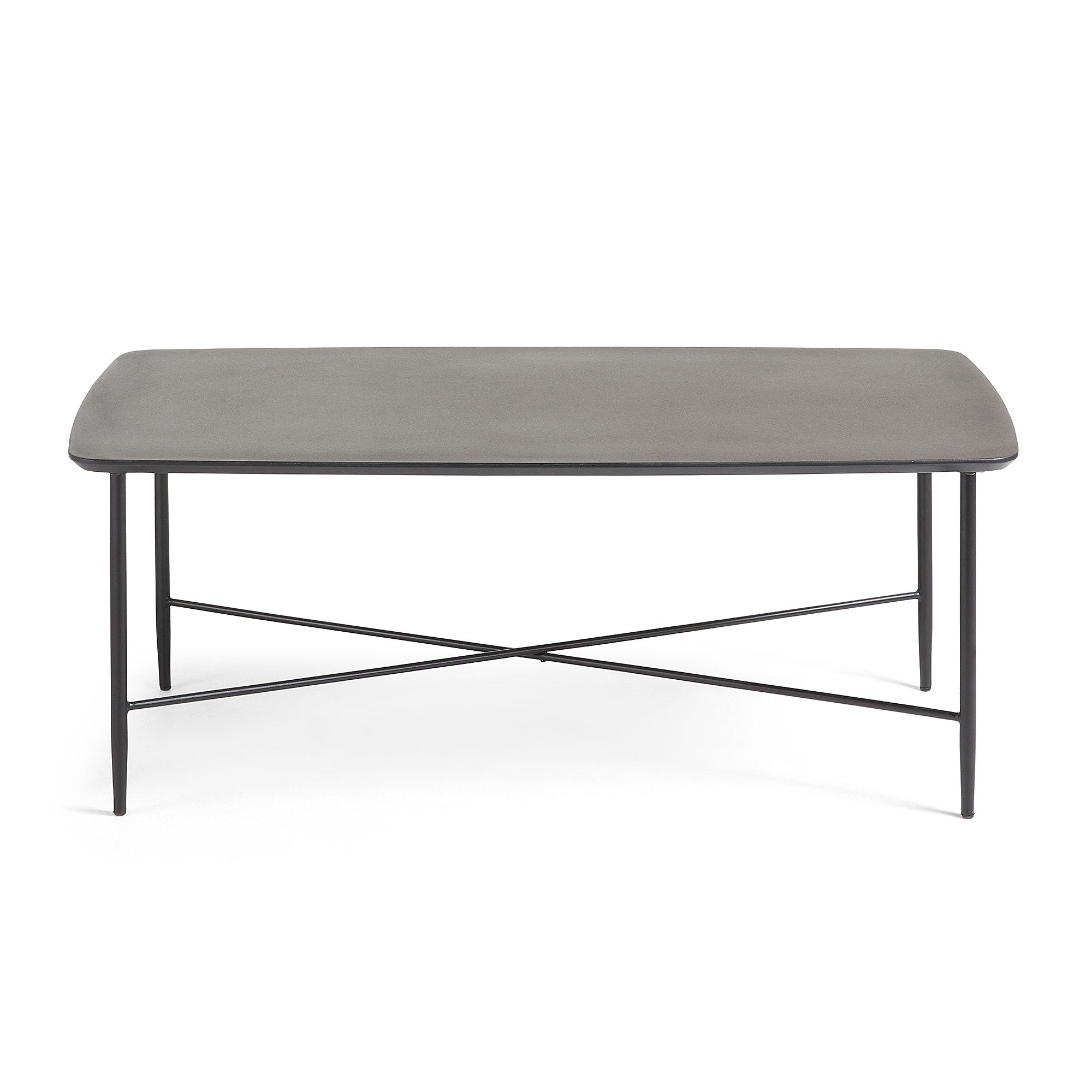 Smod Coffee table 110x60 Metal MDF Brown, Coffee Table - Home-Buy Interiors