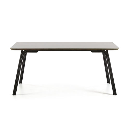 Vermont Table 180cm metal frame poly-cement top - Home-Buy Interiors