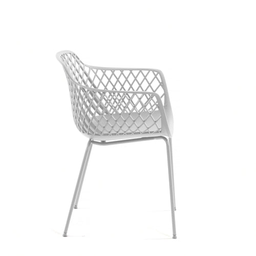 Timoi White Chair, Chair - Home-Buy Interiors