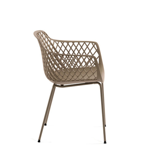 Timoi Beige Chair, Chair - Home-Buy Interiors