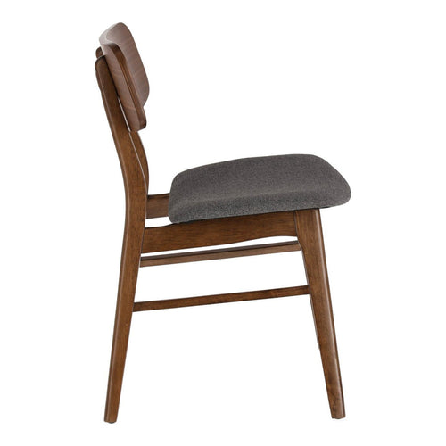 Nerida Chair With A Walnut Finish