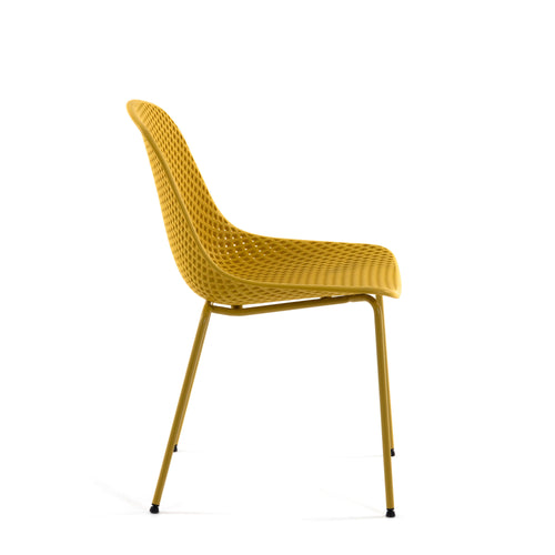 Luino Outdoor Yellow Chair, Chair - Home-Buy Interiors