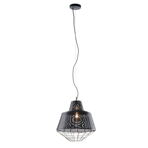 Dawn Pendant Light - Metal Black, Lighting - Home-Buy Interiors