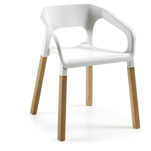 Wave Chair - White, Chair - Home-Buy Interiors