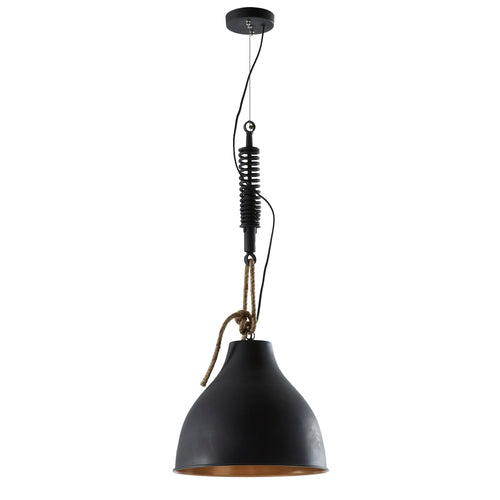 Eden Pendant Light -  Metal Black, Lighting - Home-Buy Interiors