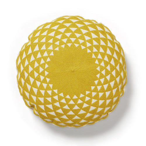 Felipa Cushion Mustard, Decor - Home-Buy Interiors
